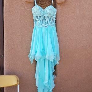 Baby Blue Prom Dress